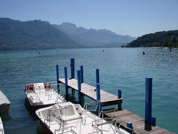 Annecy Haute Savoie Il lago